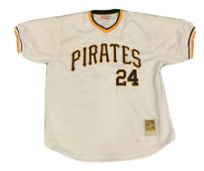 Pittsburgh Pirates Cooperstown Collection Barry Bonds Mitchell Ness Jersey Sz 54