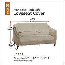 Classic Accessories Montlake Patio Bench/Loveseat/Sofa Cover- Large NEW