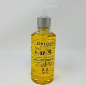 L'Occitane Oil To Milk Face Facial & Eye Makeup Remover 6.7 oz with Pump NEW