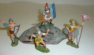 46 Waffen zu 4cm Konvolut 28 Merten Kunststoff Figuren Rohlinge Ritter