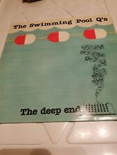 THE SWIMMING POOL Q'S THE DEEP END EXCELLENT VINYL  VPI CLEANED VINYL