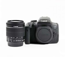 Canon EOS 750D 24.2MP Full HD Digital SLR Camera - Black Kit w/ 18-55mm Lens NEW