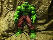 "Marvel Legends Icons HULK green 12 inch 12"" toy biz used loose ragnarok universe"