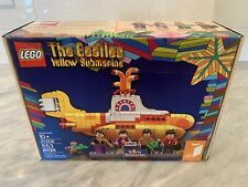 Rare LEGO Ideas Yellow Submarine (21306) - Sealed - Note: Slight creases on box