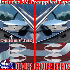 Fits 2017 2016 2015 2014 2013 ALTIMA 4DR Chrome Door Handle Bowl + Mirror COVERS