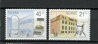 S33977a Island Iceland MNH 1990 Europa Post Offices 2v