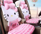 1 Sets New Hello Kitty Cute Ms Universal Car Seat Covers Cushion Plush Pink Kt1