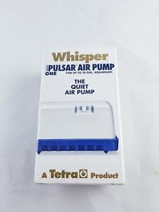 Tetra Whisper Air Pump up to 10 gal aquarium
