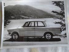 BMW 700 LS de Luxe postcard brochure 1960's