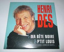 Henri des - ma bete noire - cd promo 2 titres 2002