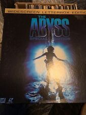 Laserdisc: The ABYSS Special Widescreen Letterbox 3 Disc Box Set THX Edition