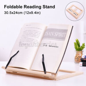 Book Document Steel Stand Portable Reading Desk Holder Bookstand Gift Adjustable