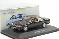 1981 Mercedes-Benz 500 SEC C126 schwarz 1:43 IXO Altaya Collection