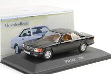1981 Mercedes-Benz 500 SEC C126 schwarz 1:43 IXO Altaya Collection
