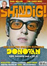 SHINDIG MAGAZINE ISSUE 84 - DONOVAN, PAUL WELLER, THE GUESS WHO, ARETHA...NEW