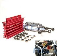 ALUMINUM OIL COOLER RADIATOR 138 140 150CC ENGINE MOTOR PIT DIRT BIKE RED I OC03