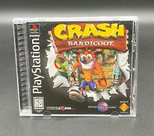 Crash Bandicoot PlayStation 1 PS1 PS2 PS3 Black label Complete!