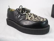 ANARCHIC A6808  BLACK LEOPARD CREEPERS NOS US 8 Men's 10 Women's EUR 41