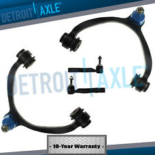 2003-2011 Ford Crown Victoria Front Upper Control Arm Ball Joint TieRod Kit 4pc