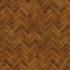 Dolls House Miniature Parquet Flooring 9 Inch Pale Cocoa Colour Oak Strip Effect