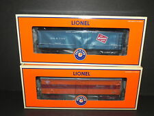 LIONEL 52343 & 52344 HIAWATHA and MILWAUKEE MILK CARS ~ UNCAT LCCA SPECIAL MINT!