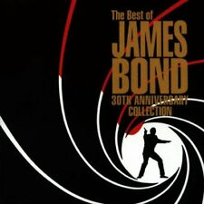 The Best of James Bond 30th Anniversary Collection CD - 1992 EMI
