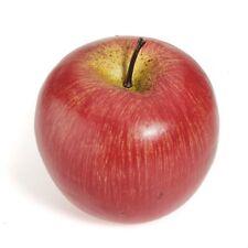 Decorativo Artificiale Rosso Mela Plastica Frutta Casa Partito arredamento A2Y8