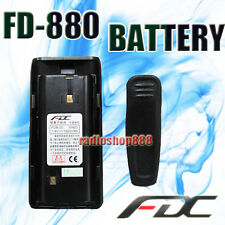 Original new 1600 mah battery for FDC FD-880 FD-890  FDB-20 radio