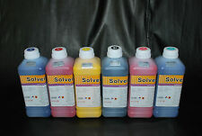 Eco Solvent ink for Dx4-Dx5 Printhead Roland Mimaki Muton (6 Liters). US Seller.