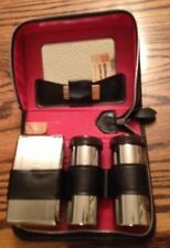 chromium two tix mens Grooming Set -  Vintage Retro 50's 60's vgc