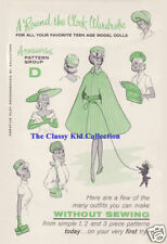 Vintage for Barbie A Round the Clock D Fashion Patterns