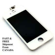 New White Replacement lcd + Digitizer Assembly for iPhone 4s GSM From Canada