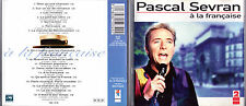 RARE CD PASCAL SEVRAN A LA FRANCAISE DE 1993 FRANCE TBE