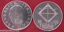C35  ITALY ITALIA REPUBBLICA  100 LIRE GUGLIELMO MARCONI 1974 KM 102  FDC UNC