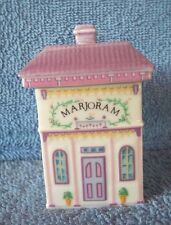 Lenox Spice Village Marjoram Jar One of Many Listed