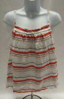 Women's XXL Multi-Colored Striped Universal Thread Cami Top