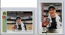 SIDNEY CROSBY 2017-2018 O-PEE-CHEE RETRO S.H./S.H/2 CARD LOT/CHAMPIONS-PENGUINS