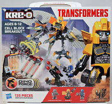 KRE-O Transformers Age of Extinction CELL BLOCK BREAKOUT w/ Bumblebee 135 Pc