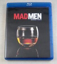 MAD MEN - Season 3 - Blu-ray 3 Disc Set -
