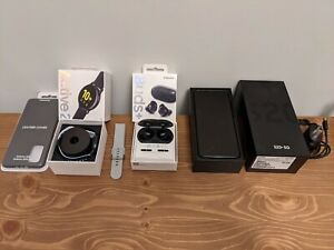 Samsung Galaxy S20+ Black SM-G986W + watch + buds + case