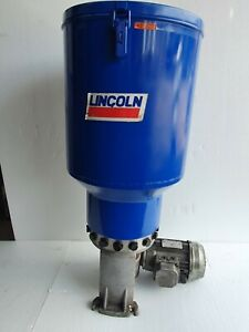 LINCOLN P215 Electric Lubricating Grease Pump, Multi-Line, 100:1, 400/440V 3Ph