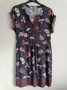 Laura Ashley Floral Dress UK 12