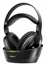 Philips SHD8800 Over the Ear Wireless Headphones - Black