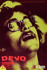 RARE ORIGINAL Devo 1988 Fillmore San Francisco Concert Poster F58 Rock New Wave