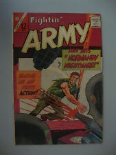 Fightin' Army #67 Vg- Normandy Nightmare