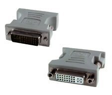 Adaptador Video de DVI-I 24+5 Dual Link Macho - Hembra