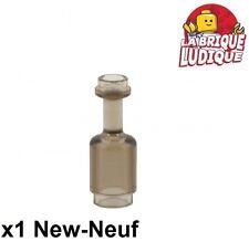 Lego - 1x Minifig utensil bouteille bottle noir trans black 95228 NEUF