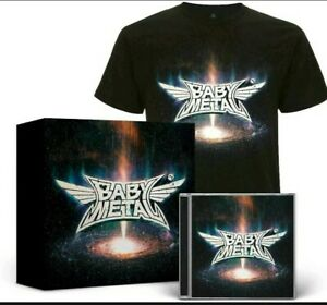 Babymetal ‎- Metal Galaxy Ltd ED Box Set T-Shirt (L) & CD New/Sealed -Baby Metal