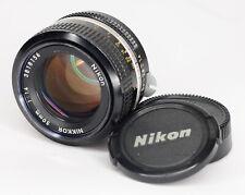 Nikon Nikkor 50mm f/1.4 Non AI Manual focus Lens for Nikon F Mount (3252BL)