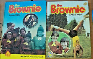 The Brownie Annual - 1984 + 1985 - 2 x Official Annuals